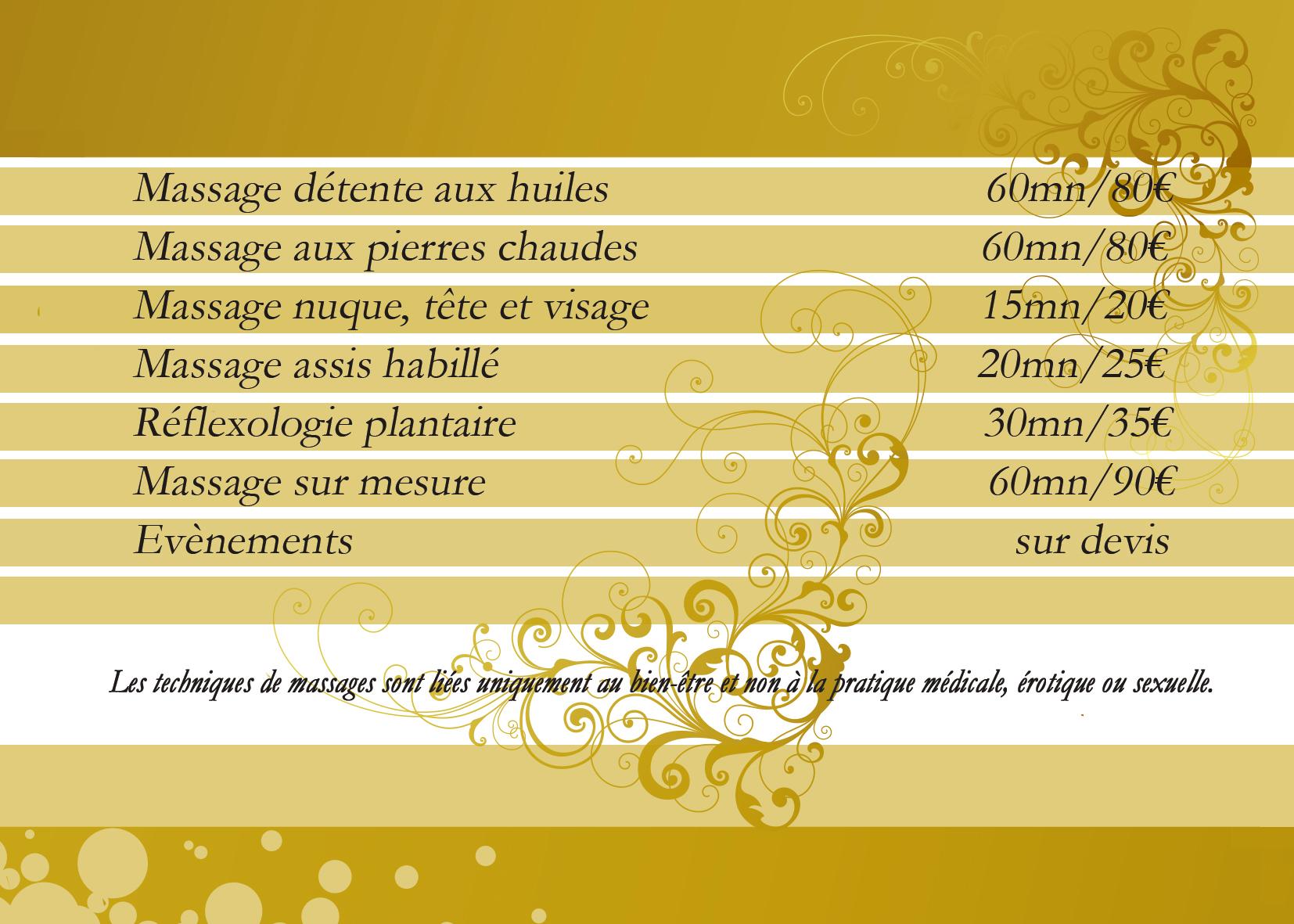 Massages Bien-Être CALLIANDRE - Montigny le Bretonneux - St