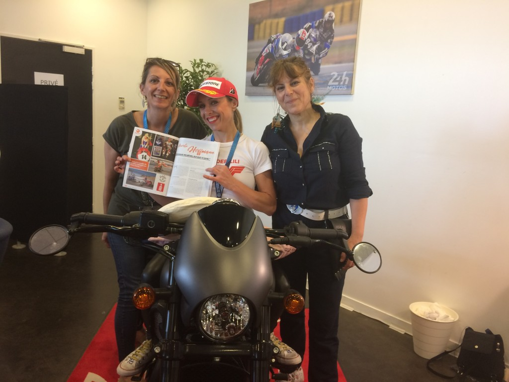 lady bike le mans 2018